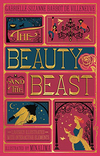 The Beauty and the Beast MinaLima cover