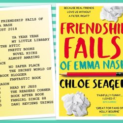 Online friends and the hilarity that is FRIENDSHIP FAILS OF EMMA NASH by Chloe Seager