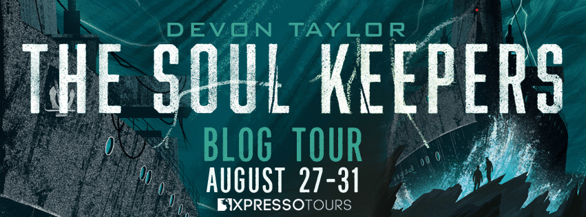 #GuestPost: Devon Taylor, author of THE SOUL KEEPERS, has a third partner in his marriage: his writing