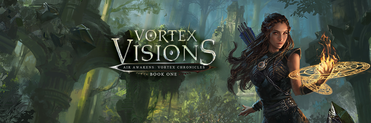 #CoverReveal: VORTEX VISIONS by Elise Kova