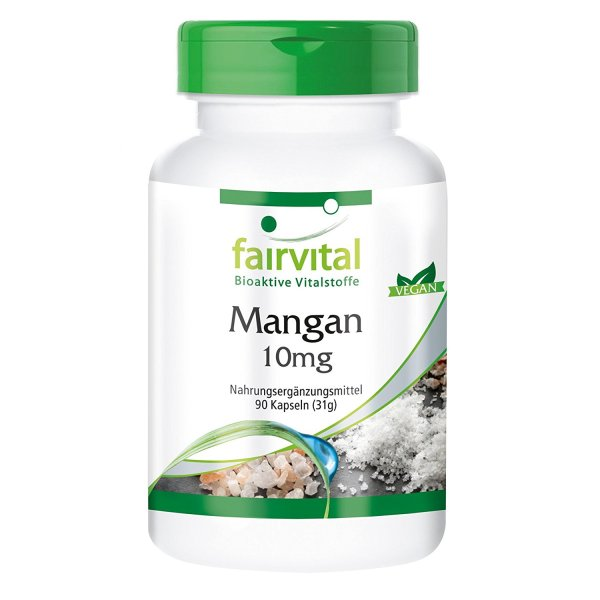 Mejor suplemento de manganeso absorcion y barato