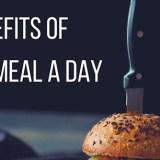 ayuno OMAD, comer una vez al día