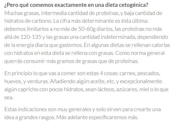 Macros y calorias en la dieta cetogenica cuantos carbohidratos