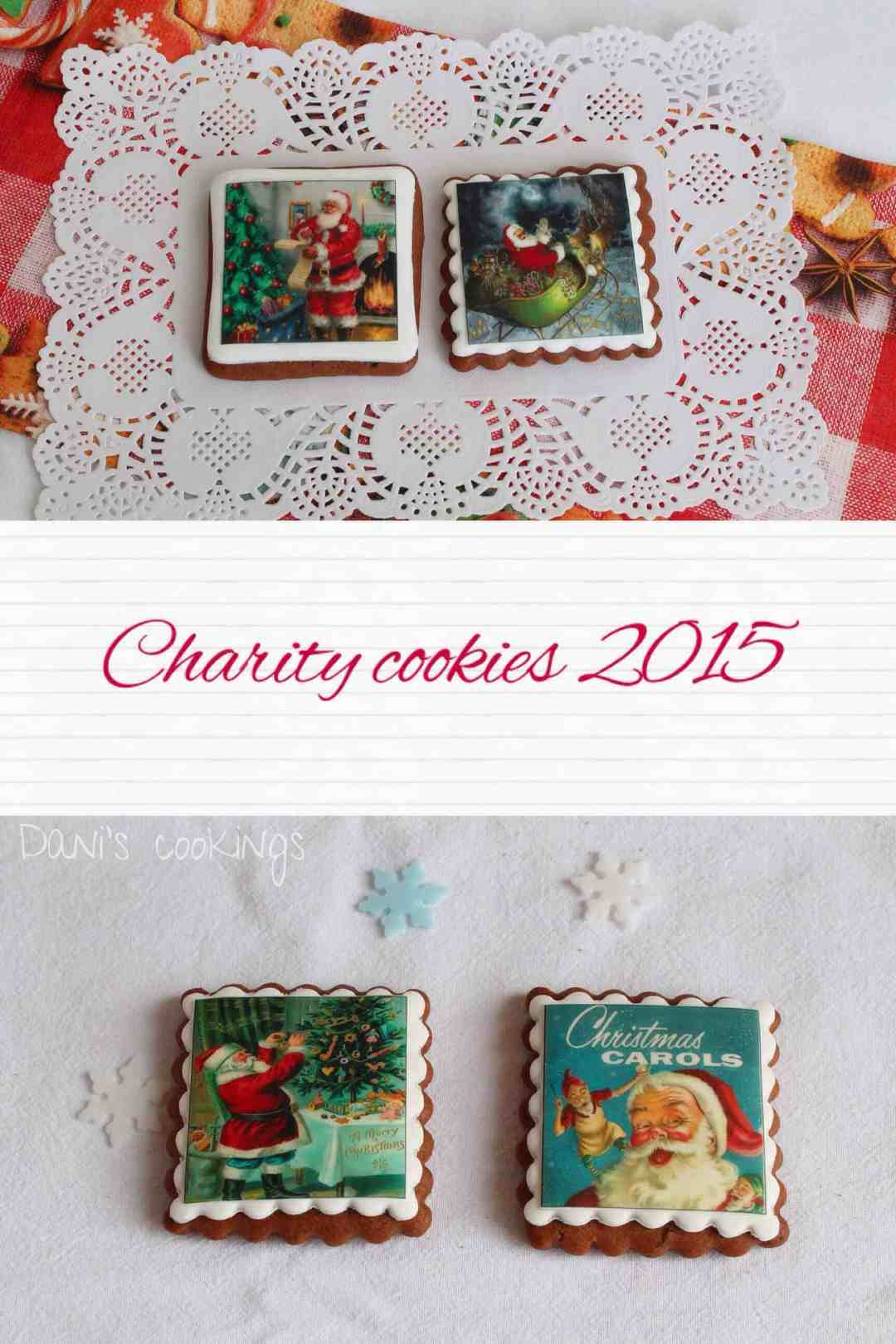 Christmas honey cookies decorated with edible prints - daniscookings.wordpress.com