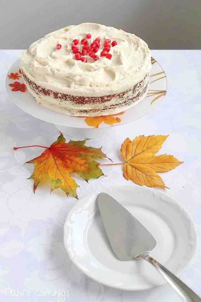 persimmon cake - daniscookings.com