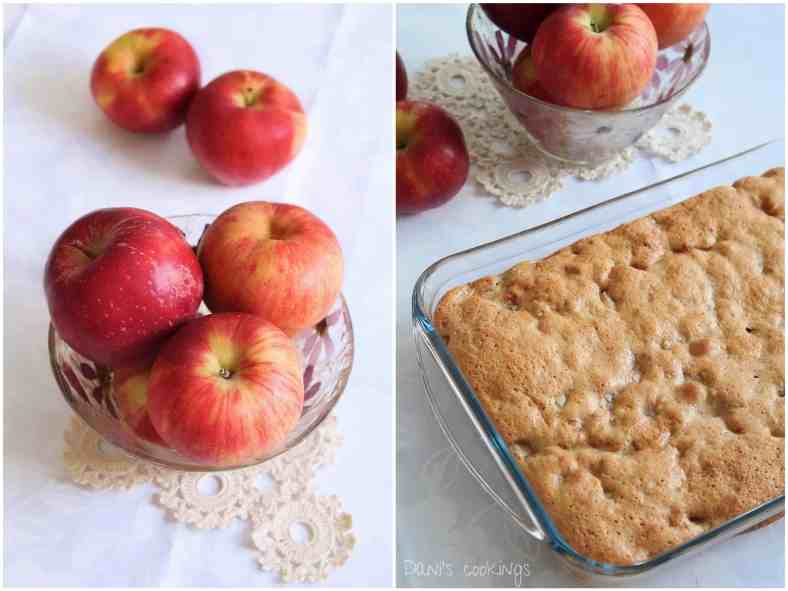 apples and biscuits cake - daniscookings.com