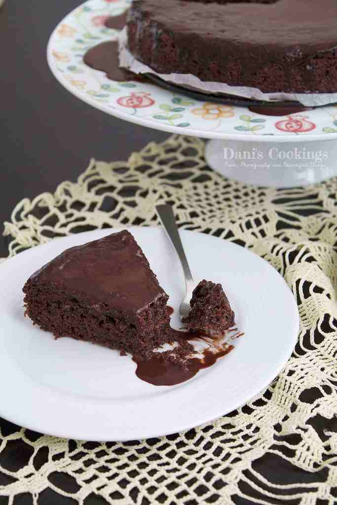 Easy eggless Hot Chocolate cake that will satisfy every chocolate lover