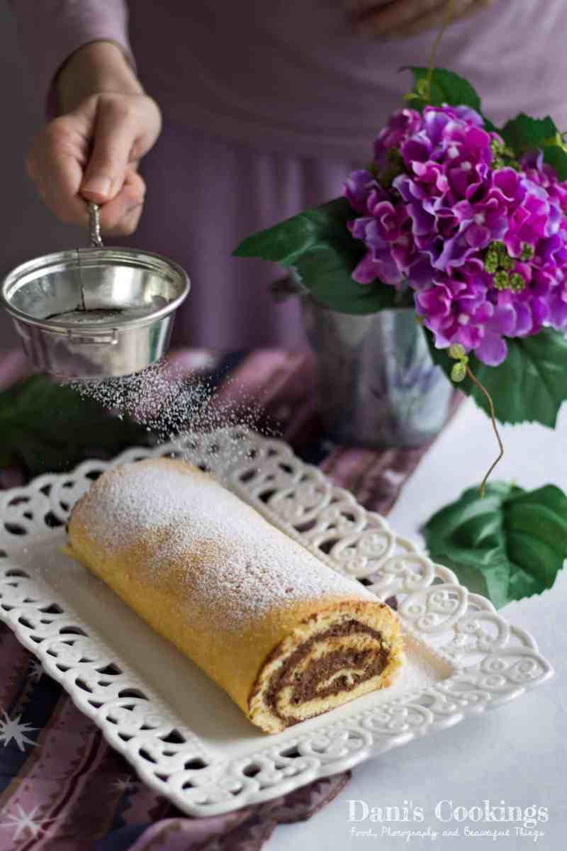 [:en]Vanilla Cake Roll with Chocolate Mousse[:bg]Ванилово руло с шоколадов мус[:]