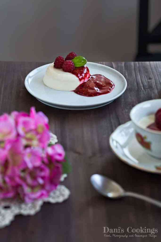 Thyme Infused Panna Cotta