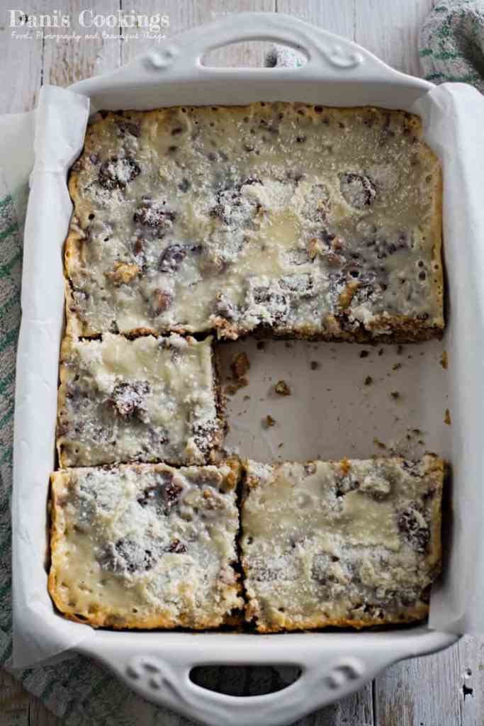 Easy Magic Cookie Bars with Dates