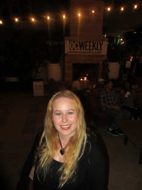 Dani at OC Weekly Decadence Event 2012