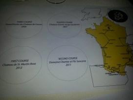 Wine Map Of Pairings