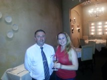 Dani & Sommelier Francois Francky
