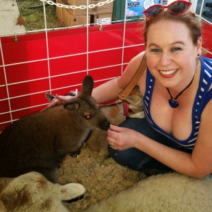 Dani and Wallaby