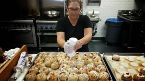 the orignal stuft scone, hood kitchen space, orange county