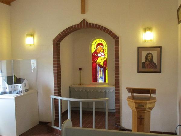 Dickson church altar