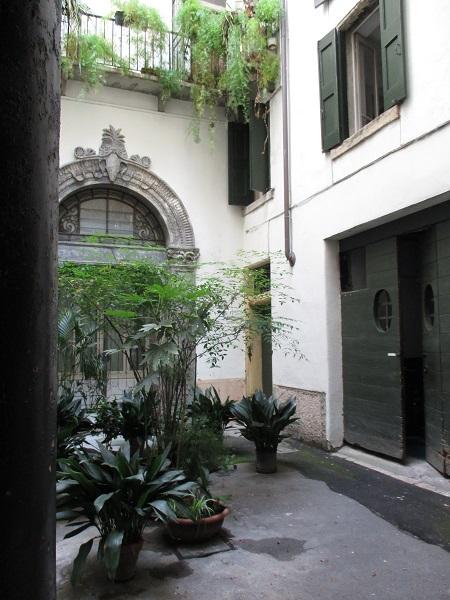 Medieval Courtyard, Verona