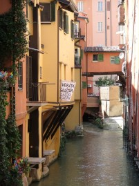 Last Canal in Bologna