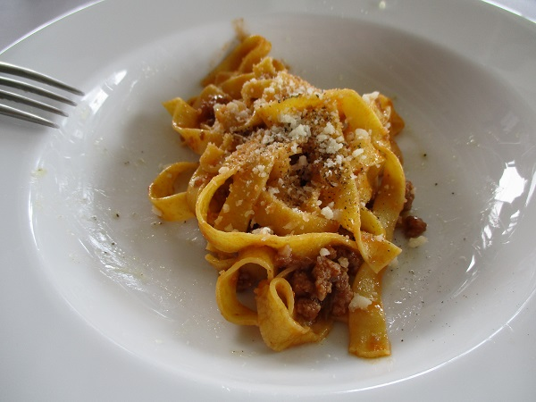 Tagliatelle and Ragu