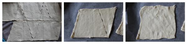 Saml de to stykker, så det bliver til en firkant – så tæt på et kvadrat som muligt.