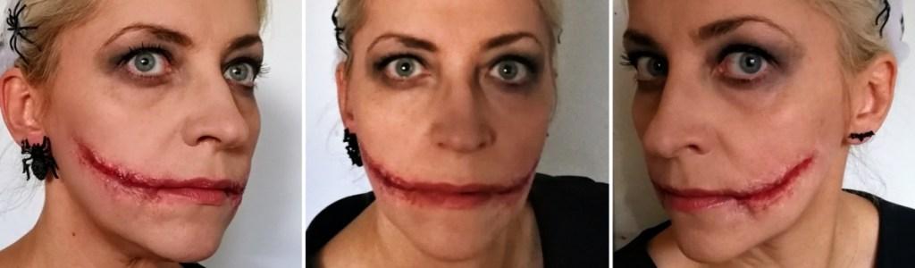 Halloweenmakeup - makeup uden latex - Danish Things © danishthings.com