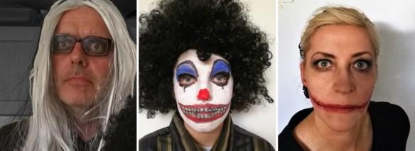 Halloweenmakeup - makeup uden latex - Find opskrifter, gratis print og inspiration til årets gang på danishthings.com