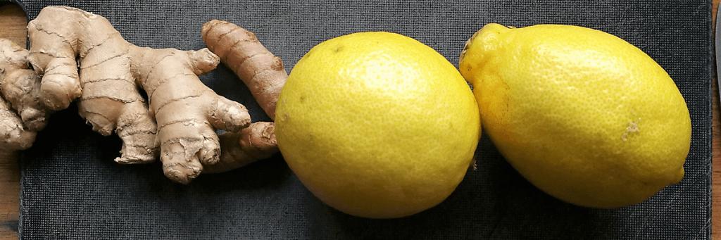 Lav selv dine egne stærke og sunde ingefærshots med gurkemeje og citron - og lav slik af resterne. Find opskrifter, gratis print og inspiration til årets gang på danishthings.com