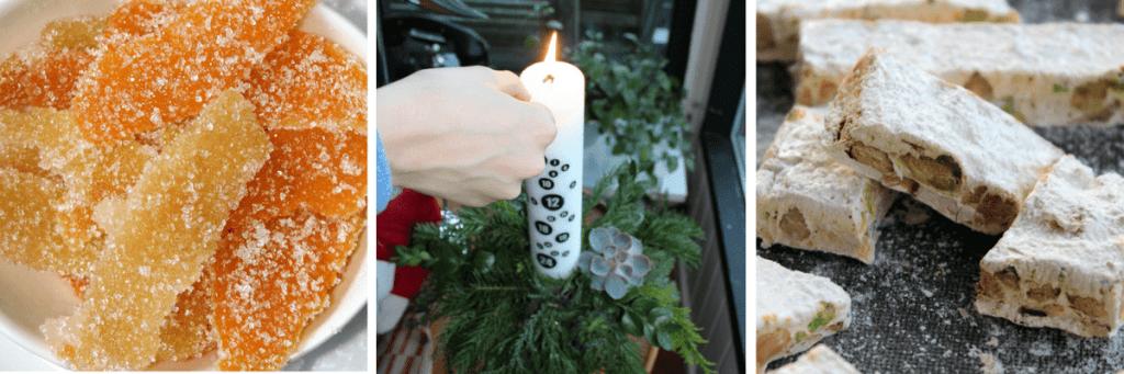 Juleprojekter – kandiseret citronskal - juledekoration – fransk nougat - Peberkager – Svenske brunkager - find opskrifter og inspiration på danishthings.com © Christel Danish Things