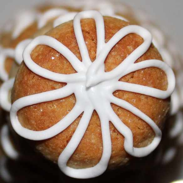 Kransekage - marzipan wreath cake © danishthings.com