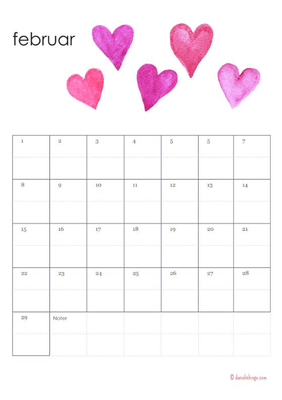 Lav selv gaver - lav en kalender. Print gratis en evighedskalender, som du selv kan sætte dit præg på, du får tips og idéer til, hvordan du gør. Find inspiration til din jul, gratis print og opskrifter på danishthings.com