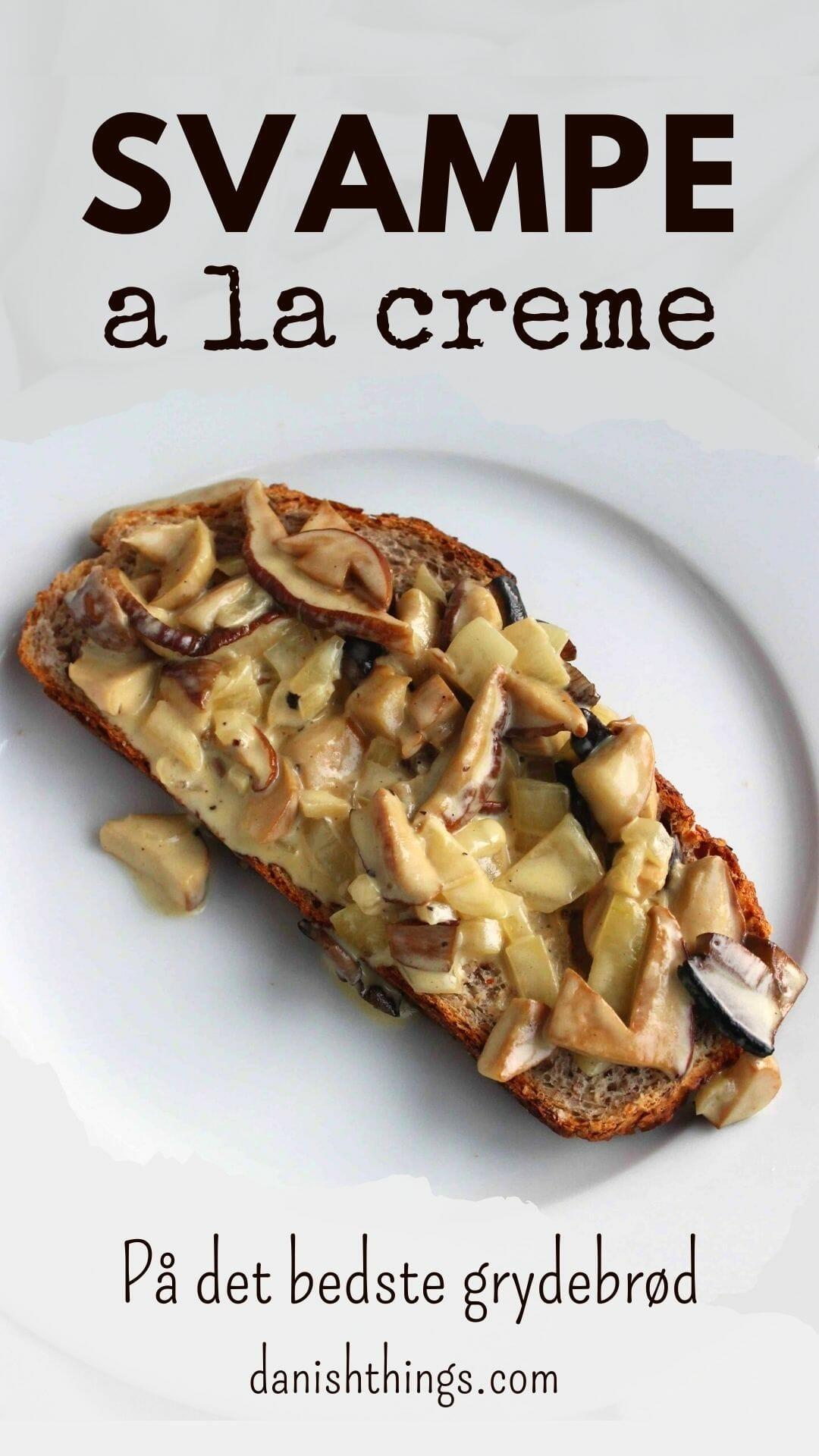 Sådan laver du svampe a la creme med Karl Johan (og de andre lækre spisesvampe). Spis svampene på et godt brød, som en lækker pastaret, til kød, i tarteletter... Find opskrifter, gratis print og inspiration til årets gang på danishthings.com #DanishThings #svampe #karljohan #spisesvampe #svampealacreme #svampe-a-la-creme #svampe-toast #svampetoast #svampesauce #mad #efterår #lækkert
