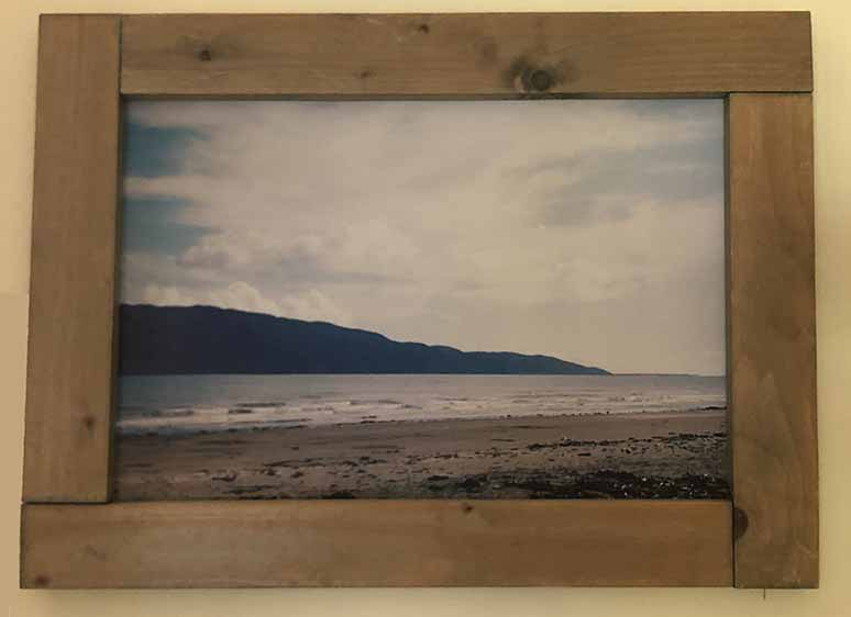 """תמונה עם מסגרת עץ מק""""ט: 1536"""