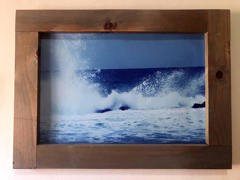 """תמונה עם מסגרת עץ מק""""ט: 1521"""