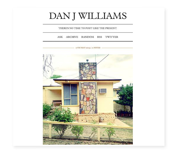 Dan J Williams Tumblr