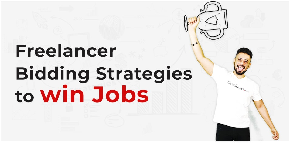 Freelancer bidding strategies to win jobs