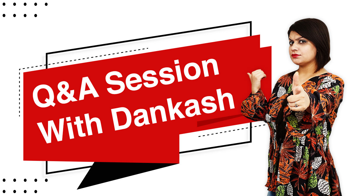 Q&A session with Dankash | #Askdankash