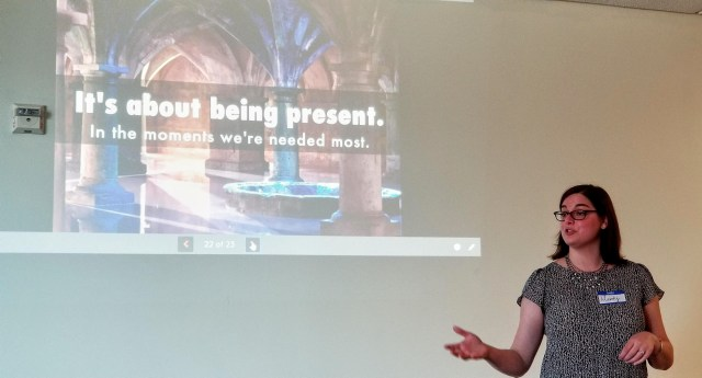Mandy Pennington Presenting on SEO