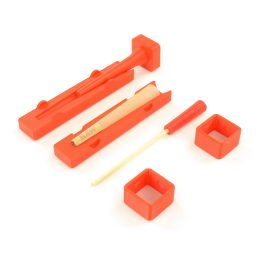 Dank Paper 1 1/4 Pre-Rolled Cone Loader Packing Tool Cone Filler Kit with Packing Tools