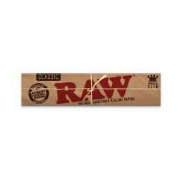 RAW Classic King Size Slim Rolling Papers – 1 Pack