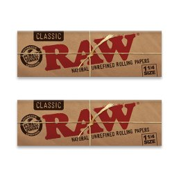 RAW Classic 1¼ Rolling Papers – 2 Pack