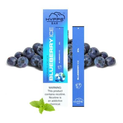 BLUEBERRY ICE HYPPE BAR