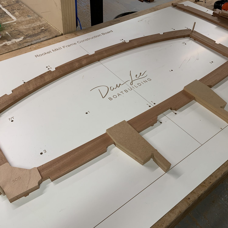 cnc boat building kit