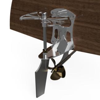 Classic boat steering cable driven steering quadrant hydraulic boat steering cutsom design classic wood boat