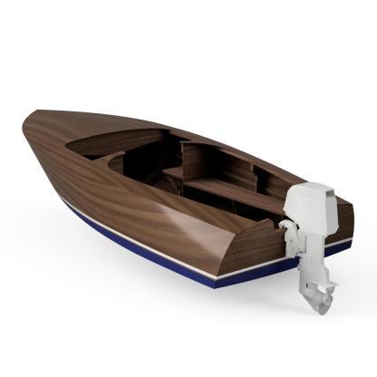 Playboy MkII boat plan by Dan Lee CNC DXF boat plan