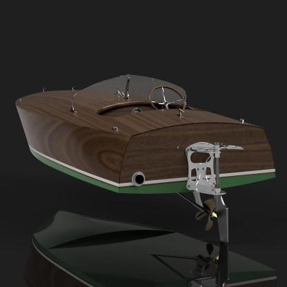 Gentlemans Racer Plans Boat Building