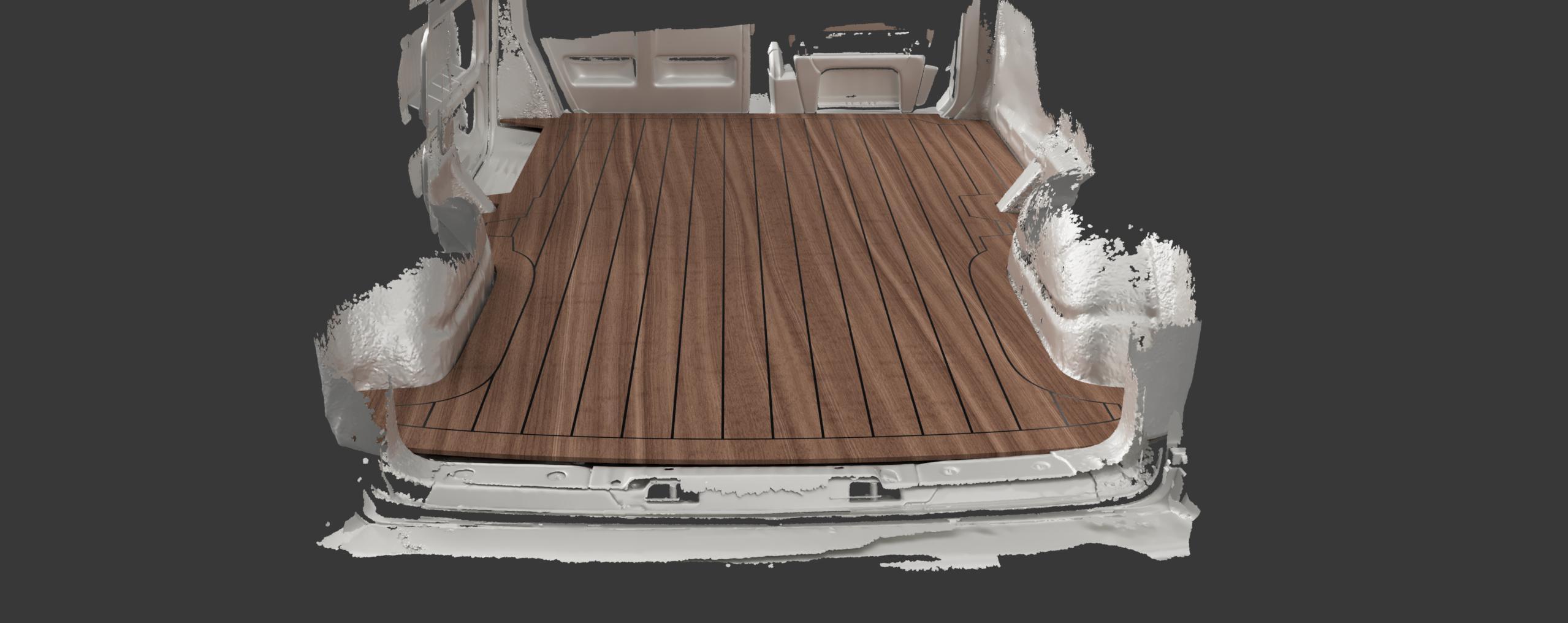 Volkswagen-Transporter-3D-scan-wooden-floor-plan-CNC-cut-van-floor
