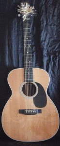 Acoustic guitar gift
