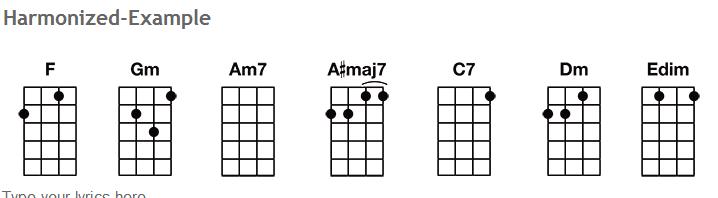 transpose chord chart