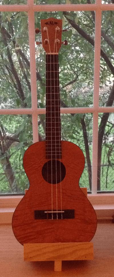 My New Kala Tenor Ukulele Dan Loves Guitars