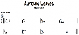 Autumn Leaves Chords